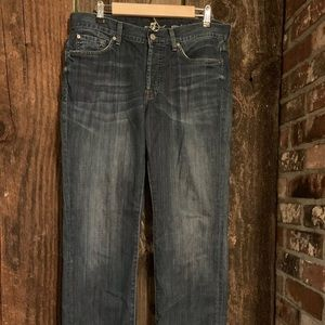 7 For All Mankind Standard Jeans Men's Button Fly